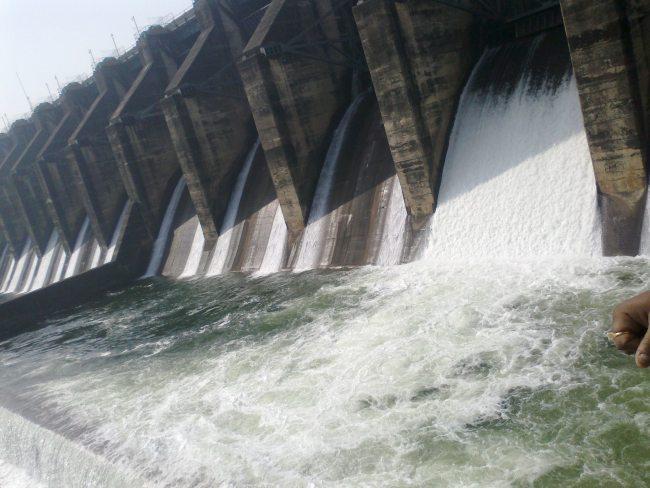 DVC Dam in Dhanbad, Jharkhand