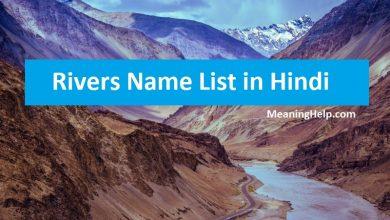 Photo of List of Rivers in India in Hindi – भारत की नदियाँ के नाम